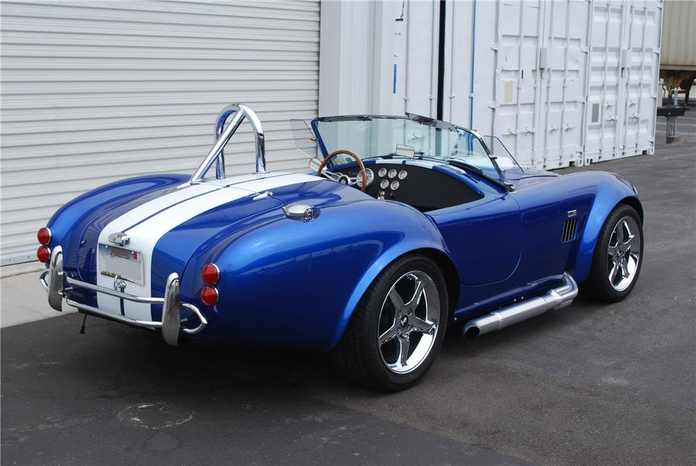 2004 FACTORY FIVE COBRA RE-CREATION ROADSTER - Rear 3/4 - 89873