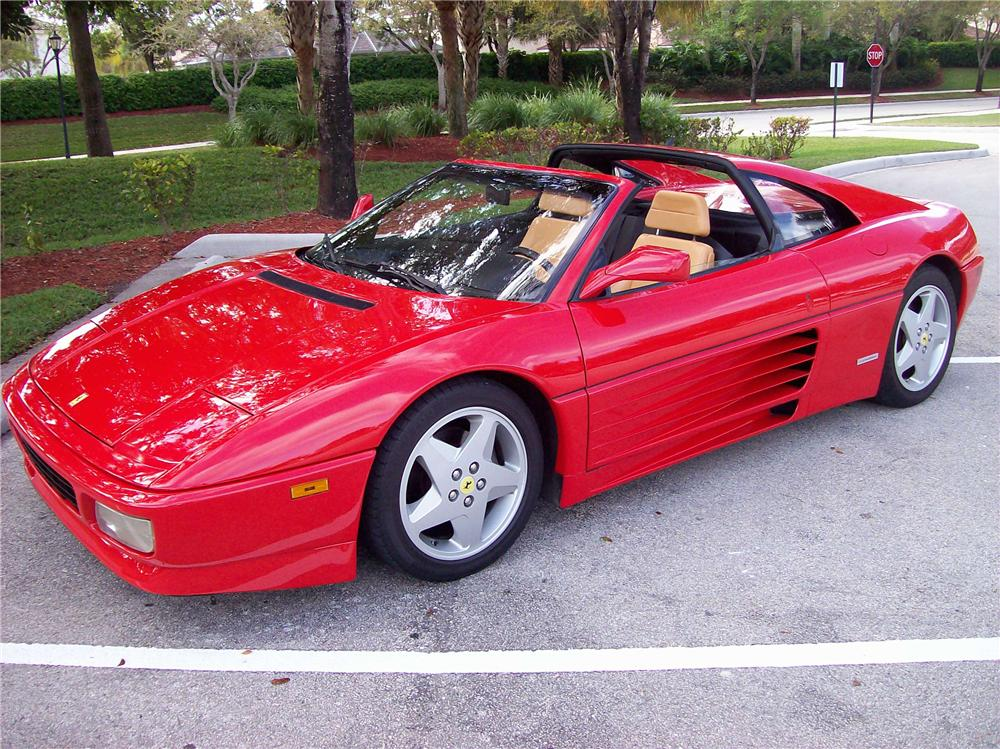 1990 ferrari 348 ts targa 89884. Black Bedroom Furniture Sets. Home Design Ideas