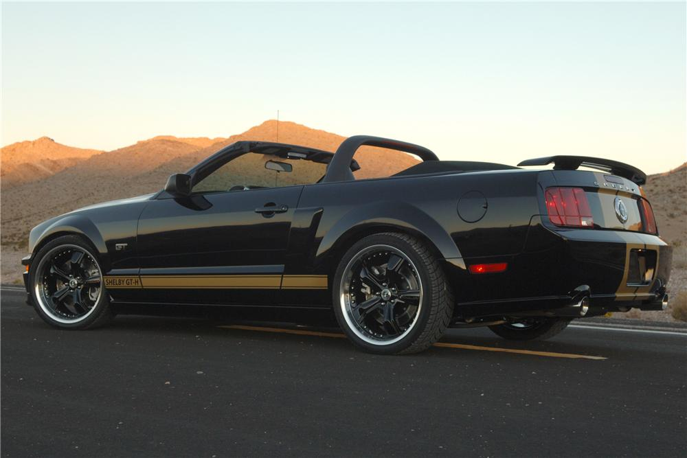 2006 FORD SHELBY GT-H CONVERTIBLE CONCEPT - Rear 3/4 - 89998