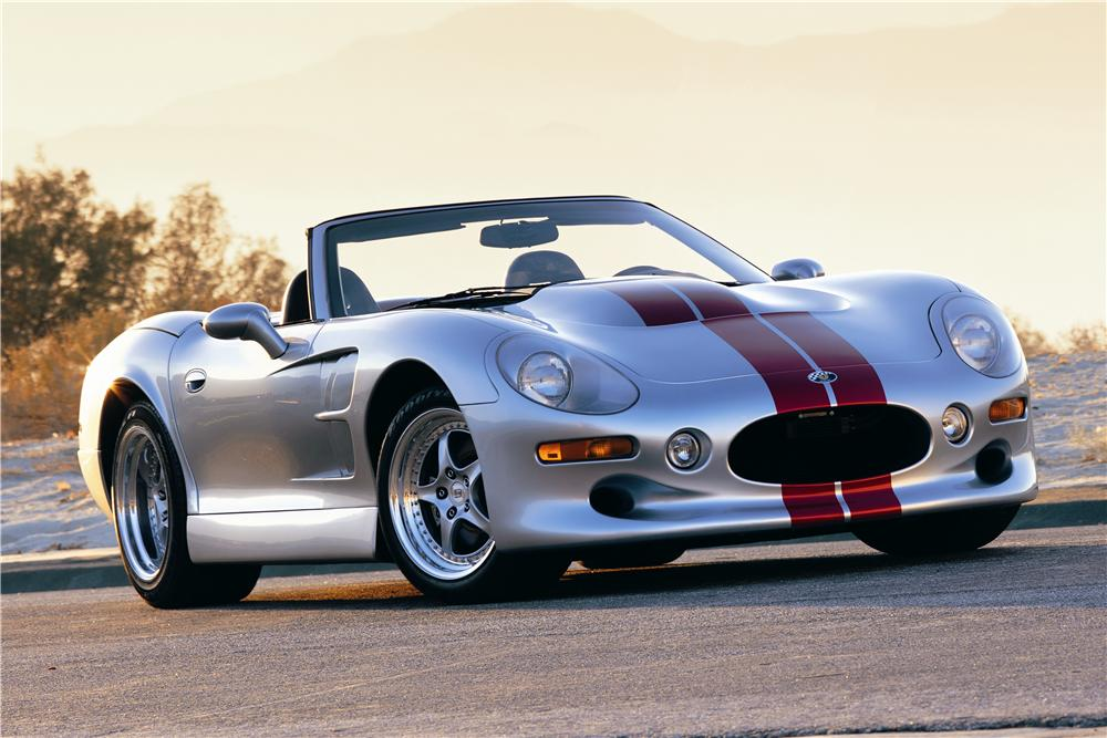 "1999 SHELBY SERIES 1 CONVERTIBLE PROTOTYPE ""PP1"" - Side Profile - 90000"