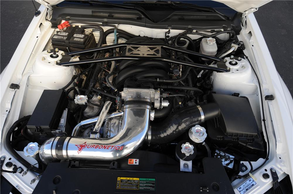 "2008 FORD SHELBY GT ""TURBO"" COUPE PROTOTYPE - Engine - 90001"