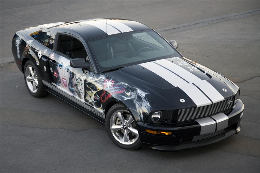 2007 FORD SHELBY GT COUPE SHOW CAR - Front 3/4 - 90002