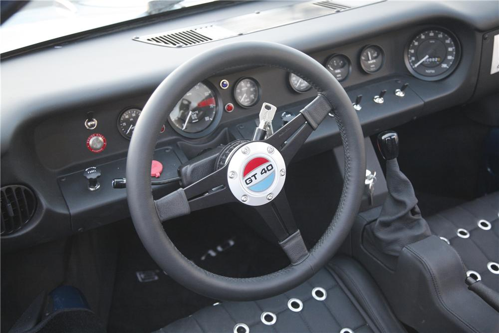 2008 FORD GT40 MKII COUPE ROLLING CHASSIS - Interior - 90003