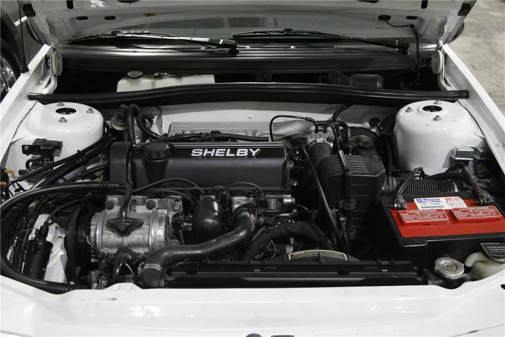 1988 DODGE SHADOW SHELBY CSX-T COUPE - Engine - 90004