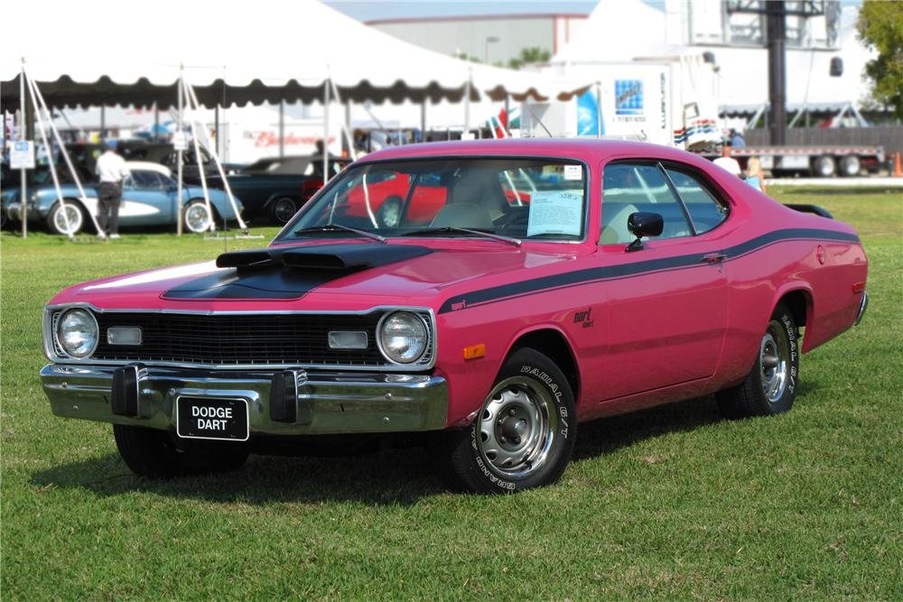 1973 DODGE DART SPORT 2 DOOR HARDTOP