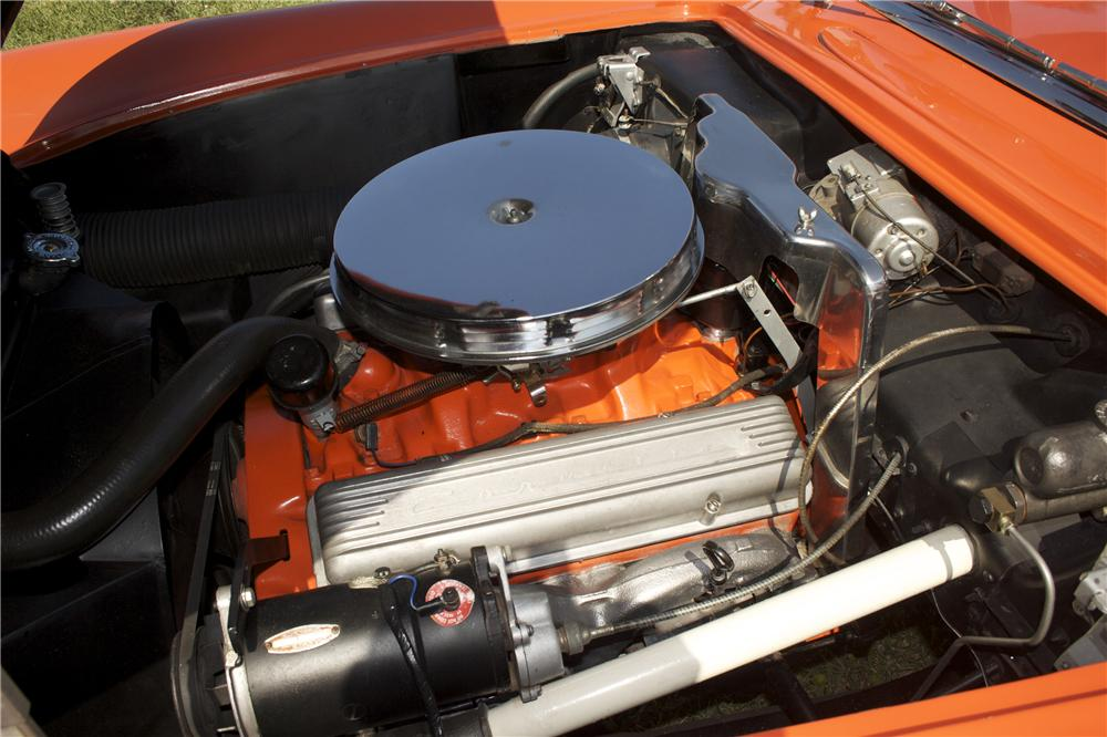 1956 CHEVROLET CORVETTE CONVERTIBLE - Engine - 90456