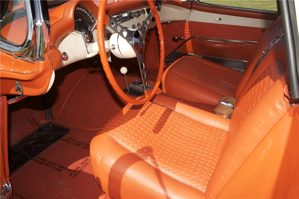 1956 CHEVROLET CORVETTE CONVERTIBLE - Interior - 90456