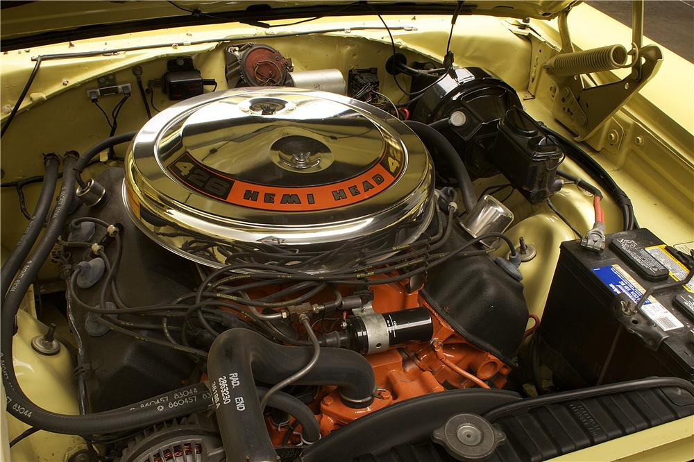 1969 DODGE HEMI CHARGER R/T COUPE - Engine - 90884