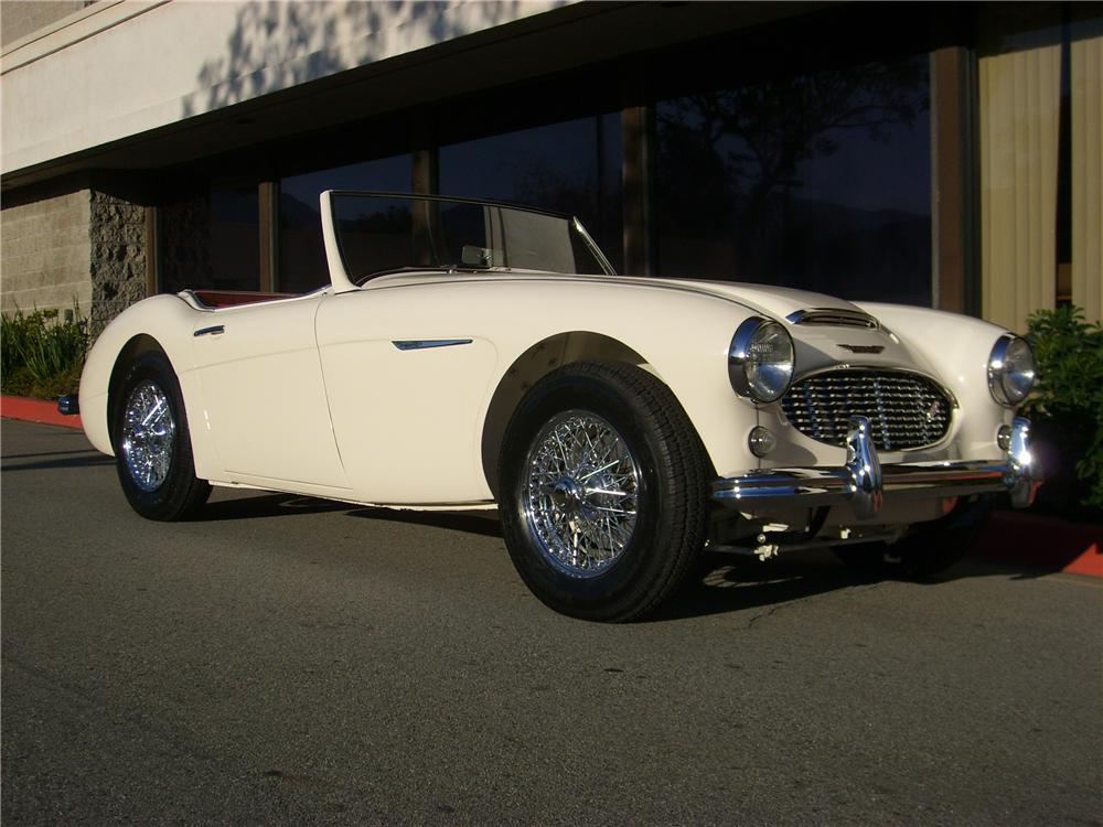 1960 AUSTIN-HEALEY 3000 MARK I BN7 ROADSTER - Front 3/4 - 90889