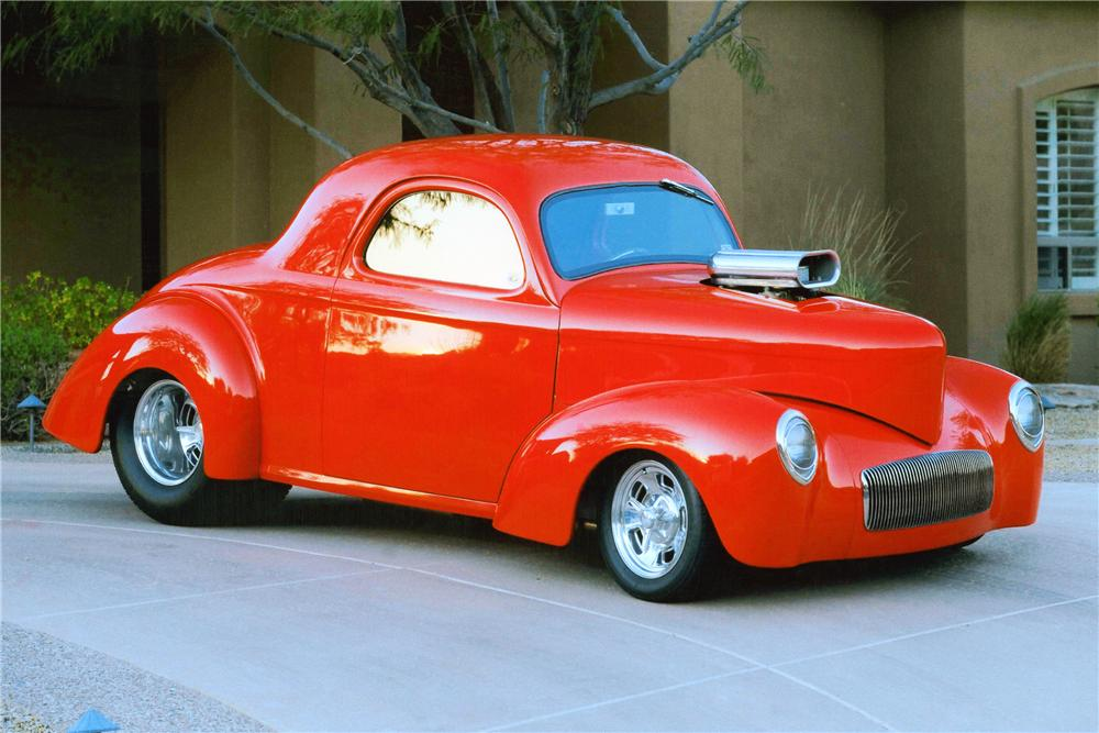 1941 WILLYS PRO STREET COUPE - Front 3/4 - 90893