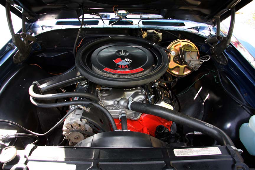 1970 CHEVROLET CHEVELLE SS 454 CONVERTIBLE - Engine - 90895
