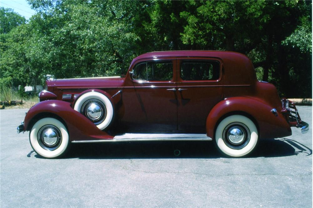 1937 PACKARD 120 CLUB SEDAN - Side Profile - 90897