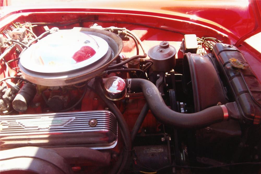 1955 FORD THUNDERBIRD 2 DOOR CONVERTIBLE - Engine - 90904