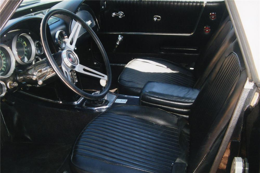 1963 CHEVROLET CORVETTE 2 DOOR CUSTOM CONVERTIBLE - Interior - 90907