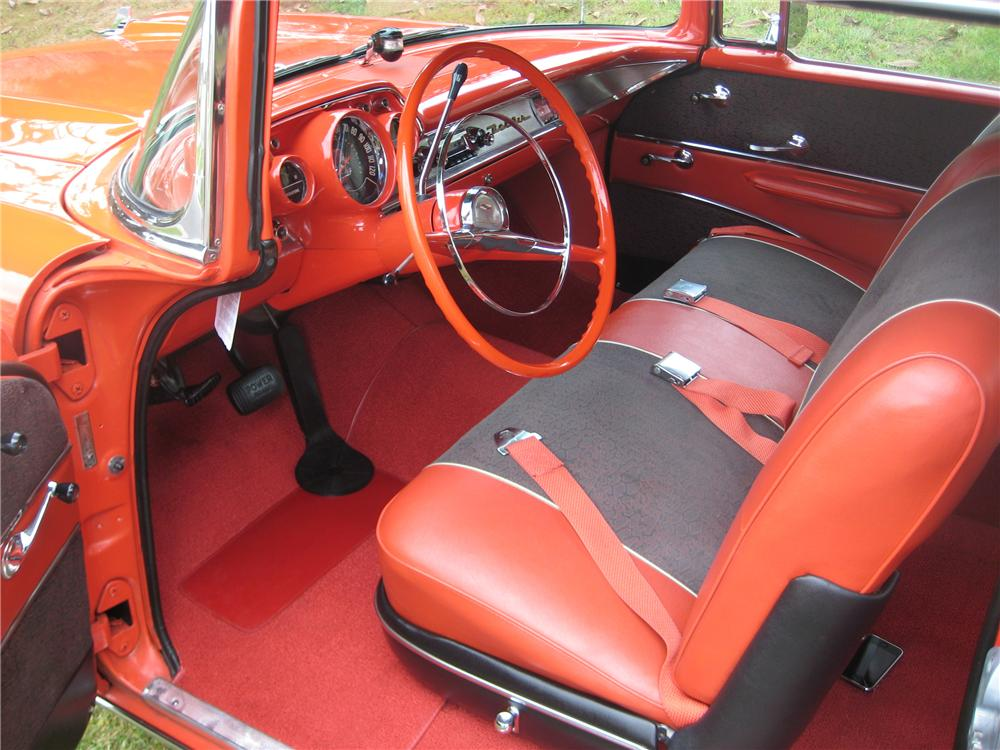 1957 CHEVROLET BEL AIR 2 DOOR HARDTOP COUPE - Interior - 90915