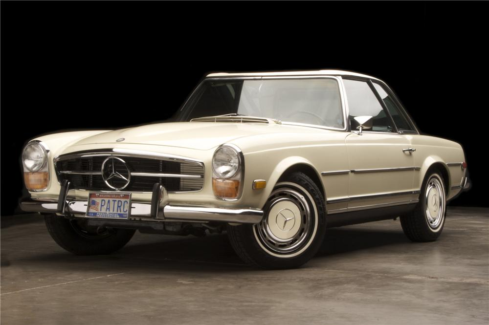 1970 Mercedes Benz 280sl Convertible 90918