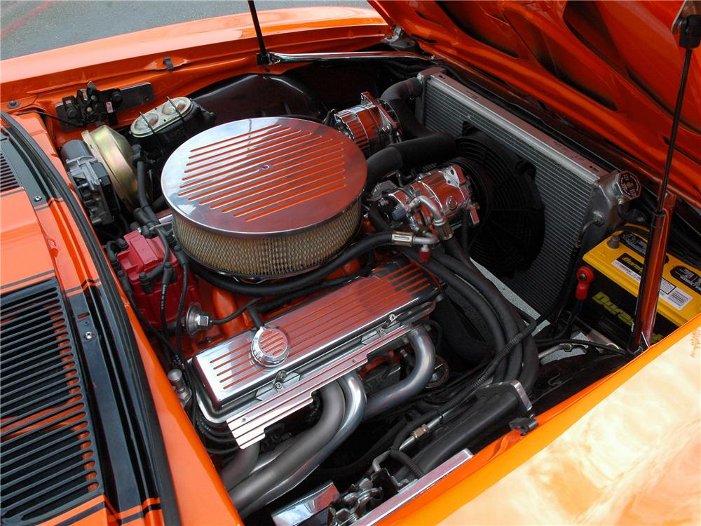 1969 CHEVROLET CAMARO SS CUSTOM COUPE - Engine - 90930
