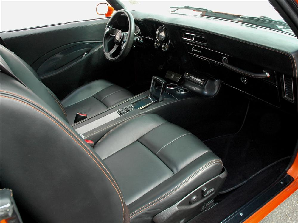 1969 CHEVROLET CAMARO SS CUSTOM COUPE - Interior - 90930