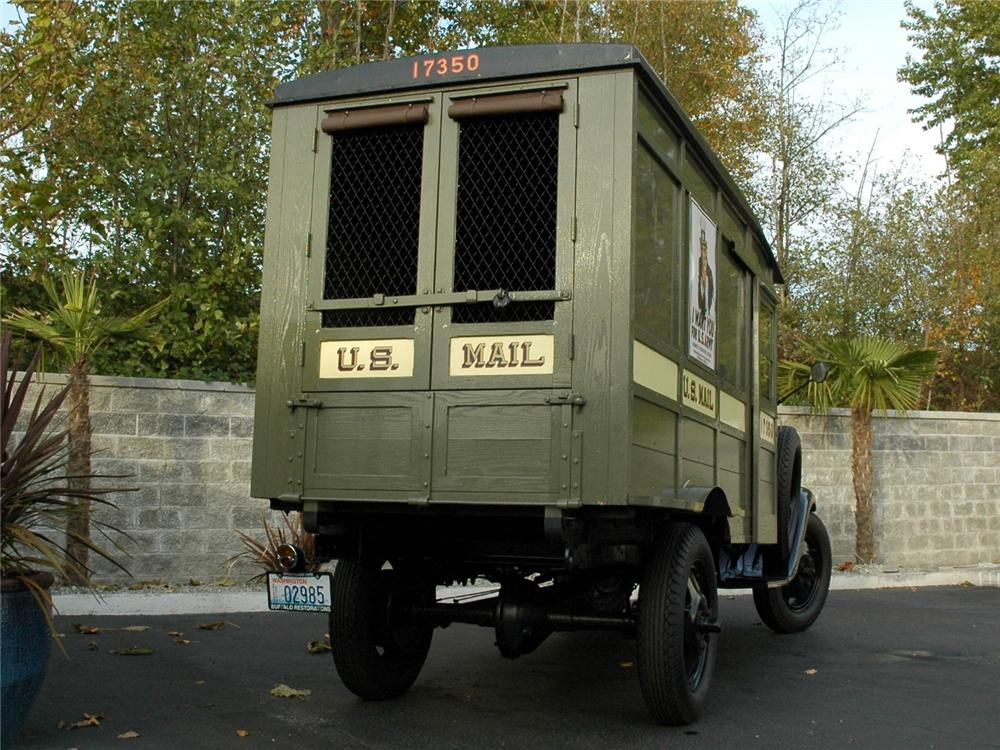 1931 FORD MODEL AA POSTAL DELIVERY TRUCK - Rear 3/4 - 90934