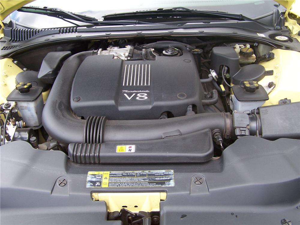 2002 FORD THUNDERBIRD 2 DOOR CONVERTIBLE - Engine - 90940