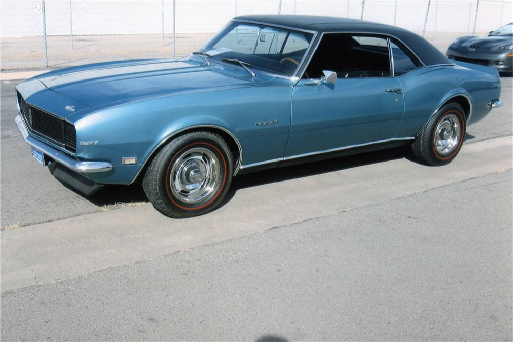1968 CHEVROLET CAMARO RS 2 DOOR COUPE - Front 3/4 - 90948