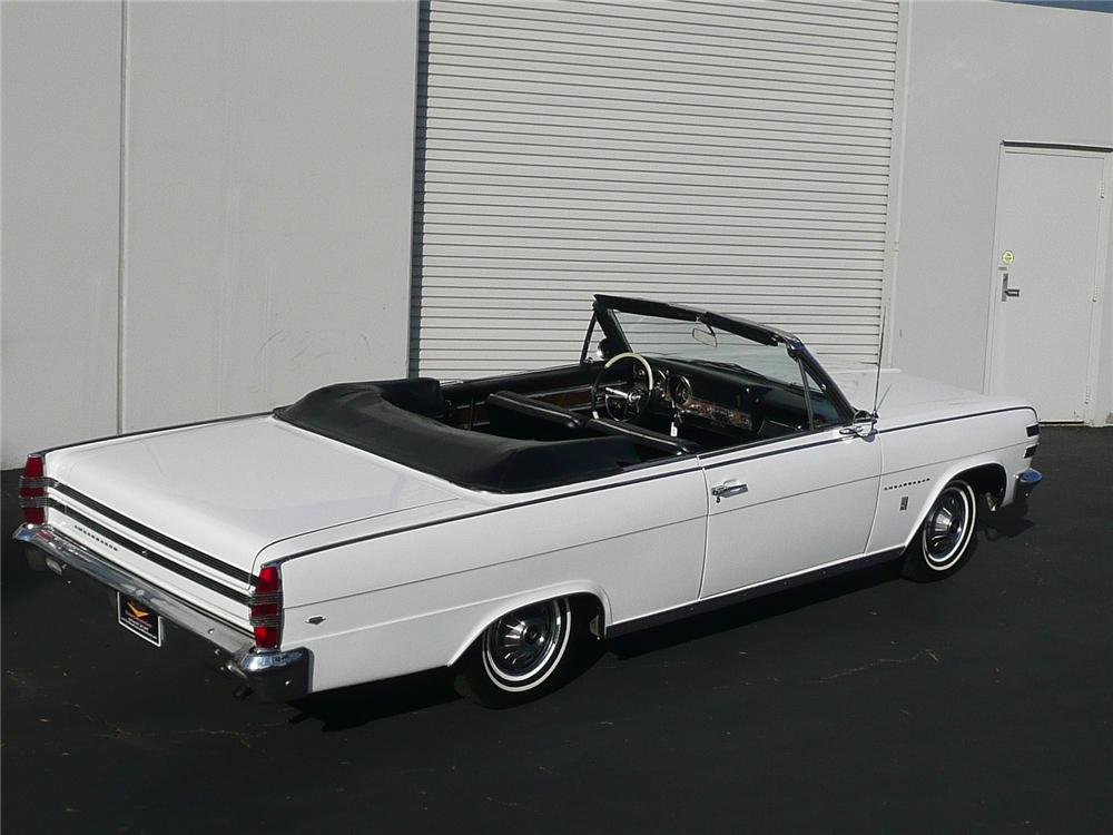 1966 AMERICAN MOTORS AMBASSADOR 2 DOOR CONVERTIBLE - Rear 3/4 - 90957