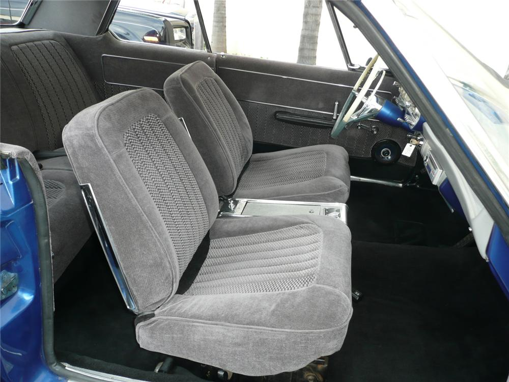 1963 DODGE POLARA CUSTOM 2 DOOR HARDTOP - Interior - 90958