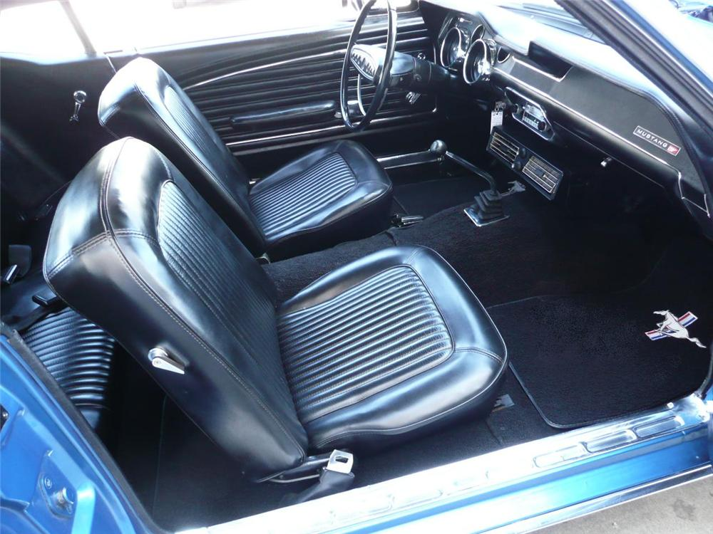 1968 FORD MUSTANG CALIFORNIA SPECIAL COUPE - Interior - 90959
