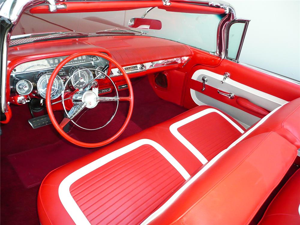 1959 BUICK INVICTA CONVERTIBLE - Interior - 90964