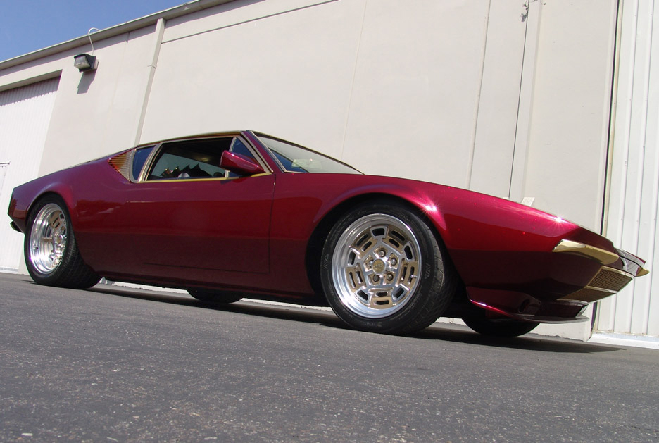 1973 DE TOMASO PANTERA 2 DOOR CUSTOM COUPE - Front 3/4 - 90966