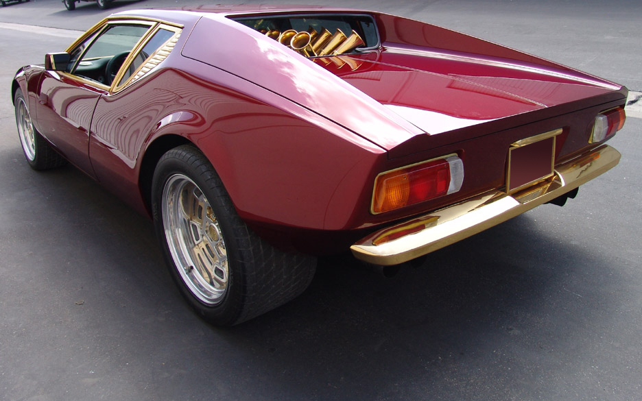 1973 DE TOMASO PANTERA 2 DOOR CUSTOM COUPE - Rear 3/4 - 90966