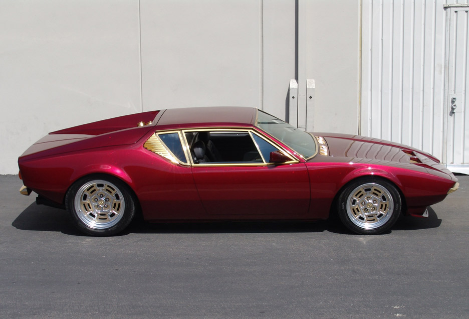 1973 DE TOMASO PANTERA 2 DOOR CUSTOM COUPE - Side Profile - 90966