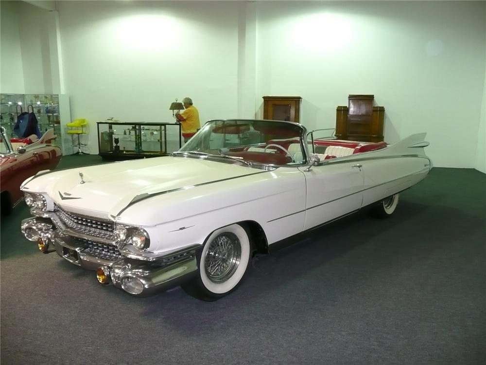 1959 cadillac series 62 custom 2 door convertible 90967. Black Bedroom Furniture Sets. Home Design Ideas