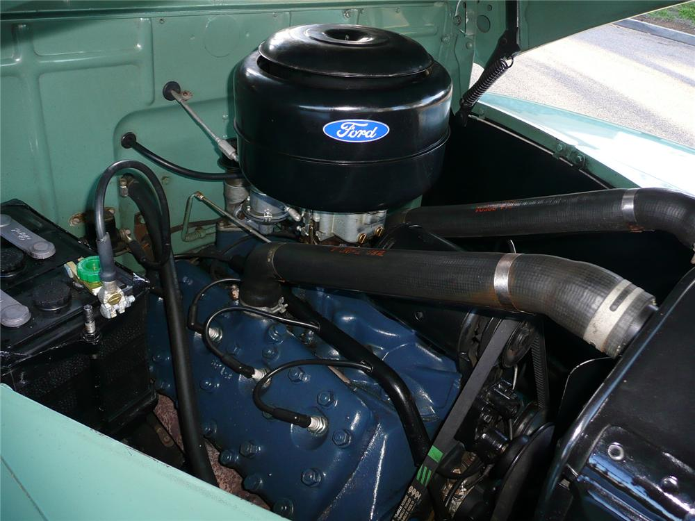 1942 FORD SUPER DELUXE CONVERTIBLE - Engine - 90970