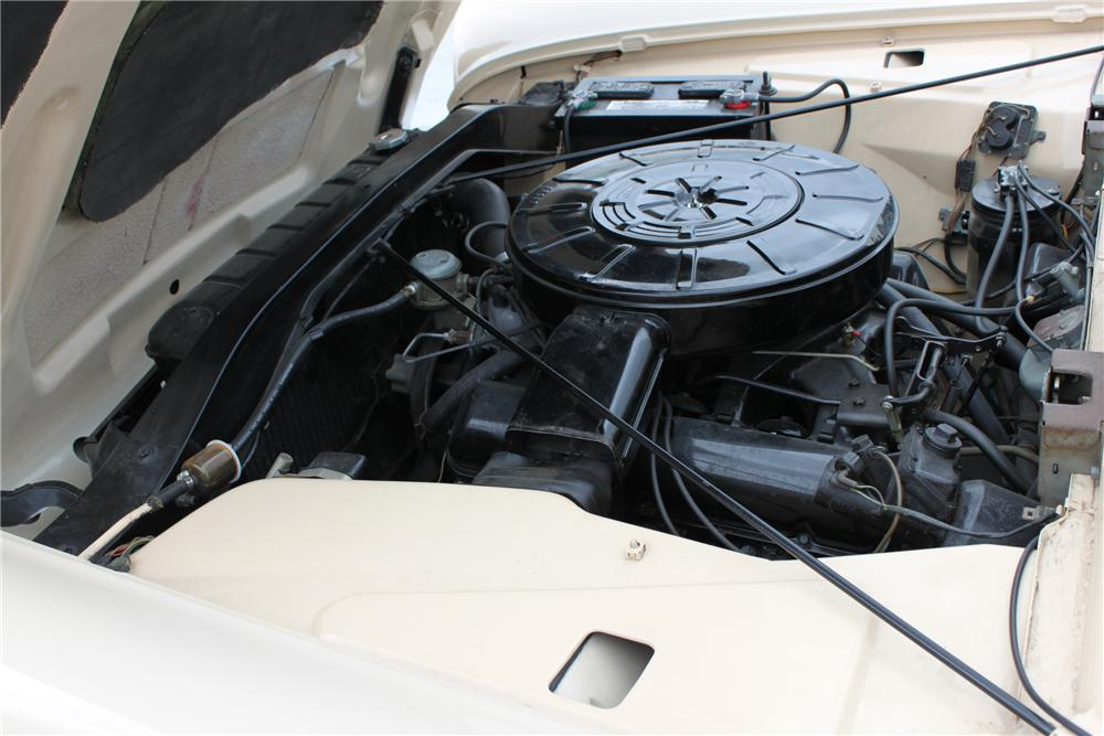 1959 LINCOLN CONTINENTAL MARK IV CONVERTIBLE - Engine - 90976
