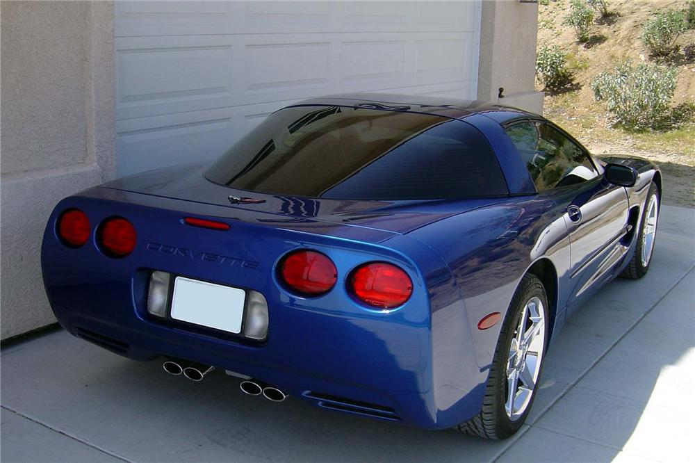 2002 CHEVROLET CORVETTE COUPE - Rear 3/4 - 90979