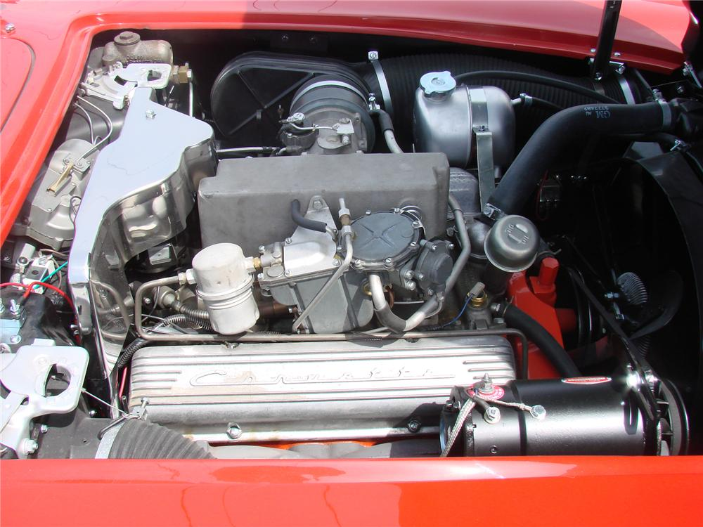 1961 CHEVROLET CORVETTE CONVERTIBLE - Engine - 90984