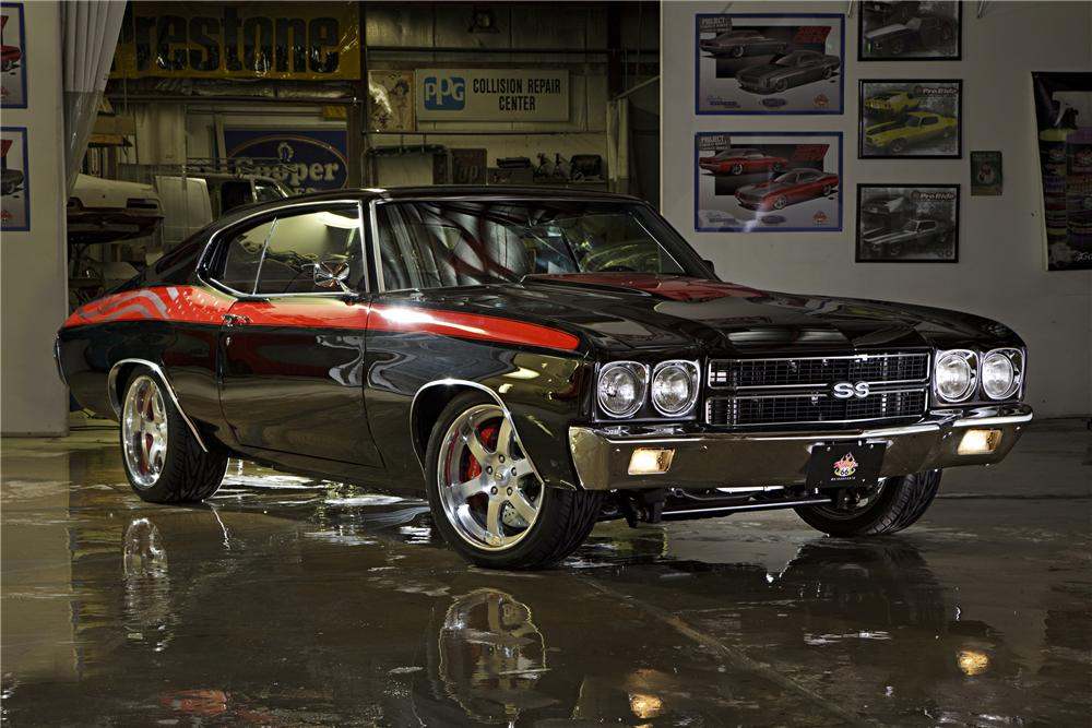 1970 CHEVROLET CHEVELLE SS CUSTOM COUPE - 90987