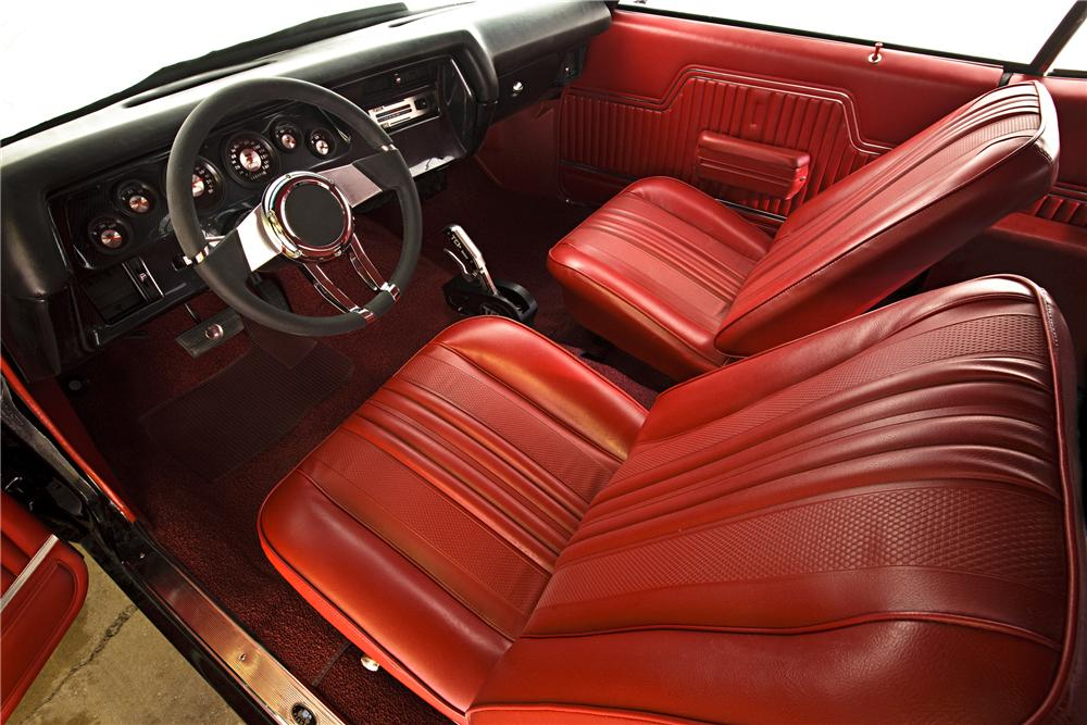 1970 CHEVROLET CHEVELLE SS CUSTOM COUPE - Interior - 90987