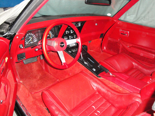 1979 CHEVROLET CORVETTE CUSTOM COUPE - Interior - 90990