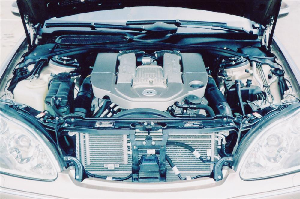 2003 MERCEDES-BENZ S55 AMG 4 DOOR - Engine - 90993