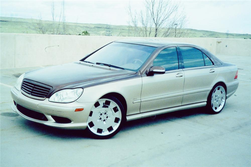 2003 MERCEDES-BENZ S55 AMG 4 DOOR - Front 3/4 - 90993