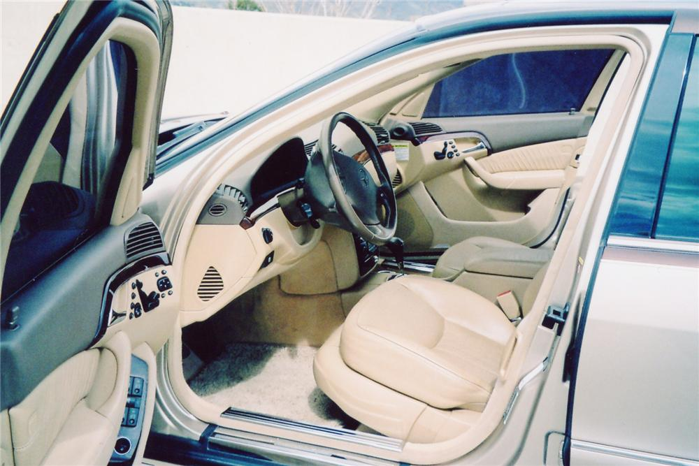 2003 MERCEDES-BENZ S55 AMG 4 DOOR - Interior - 90993