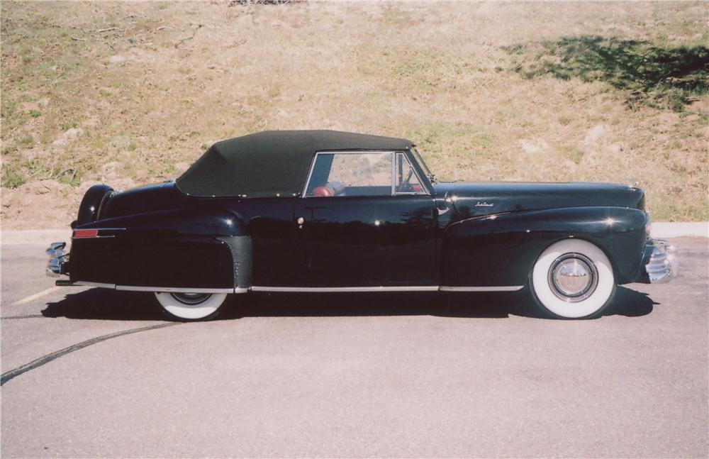 1946 LINCOLN CONTINENTAL 2 DOOR CONVERTIBLE - Front 3/4 - 90994
