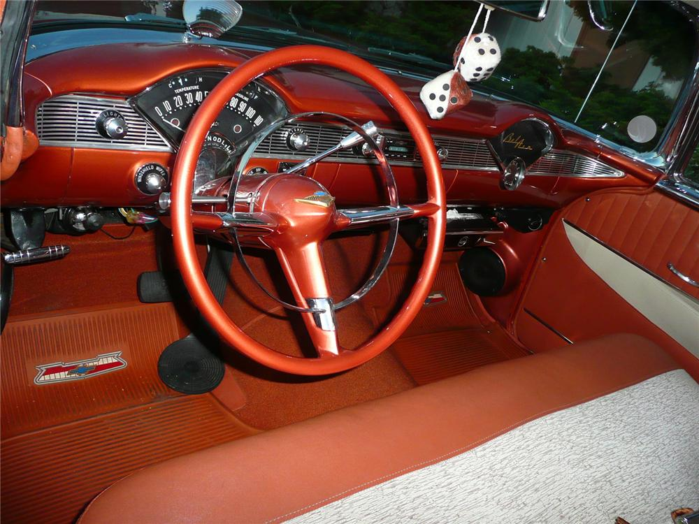 1956 CHEVROLET NOMAD CUSTOM WAGON - Interior - 90997