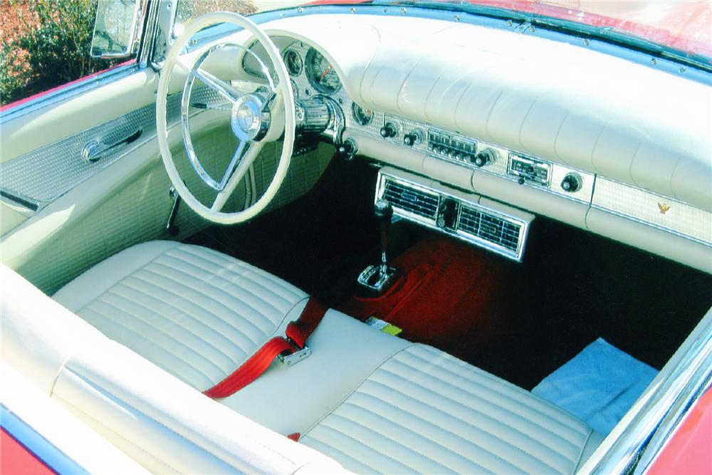 1957 FORD THUNDERBIRD CONVERTIBLE - Interior - 90998