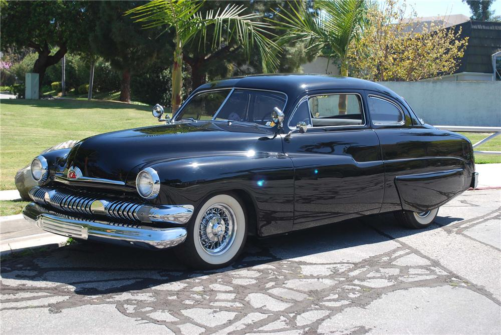 1951 MERCURY CUSTOM HARDTOP 2 DOOR COUPE - Front 3/4 - 91001
