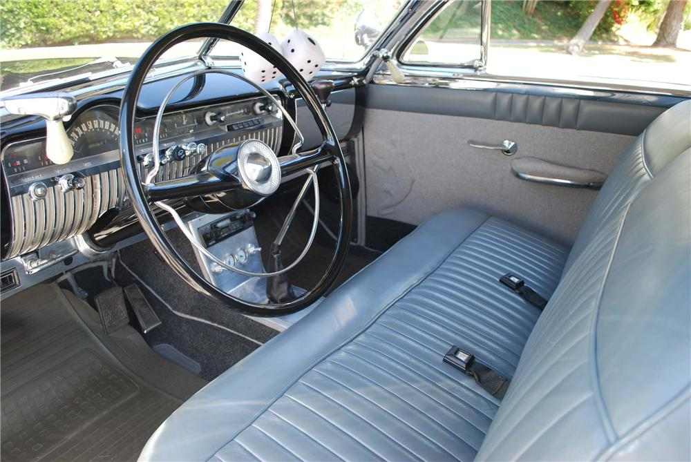 1951 MERCURY CUSTOM HARDTOP 2 DOOR COUPE - Interior - 91001