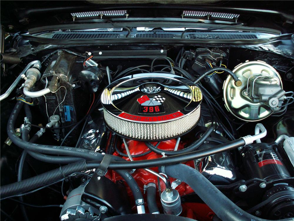 1969 CHEVROLET CHEVELLE SS 396 2 DOOR COUPE - Engine - 91003
