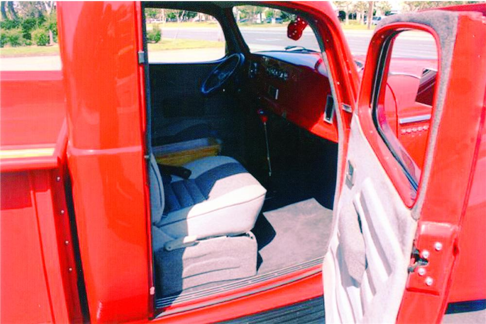 1947 HUDSON CUSTOM PICKUP - Interior - 91006